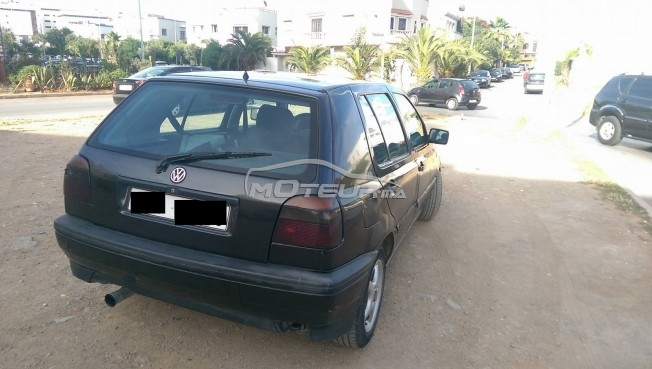volkswagen golf 3 1993 diesel 159249 occasion casablanca. Black Bedroom Furniture Sets. Home Design Ideas