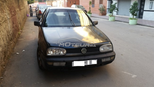 volkswagen golf 3 1995 diesel 147968 occasion casablanca maroc. Black Bedroom Furniture Sets. Home Design Ideas