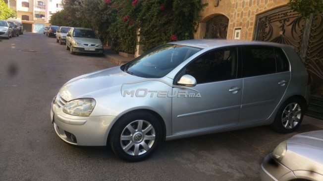 volkswagen golf 5 2 0 tdi 2005 diesel 166757 occasion casablanca maroc. Black Bedroom Furniture Sets. Home Design Ideas