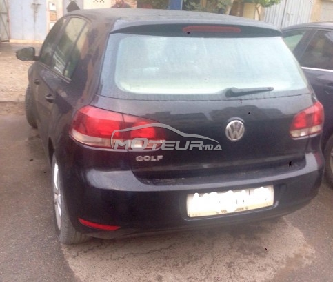volkswagen golf 6 2010 essence 143172 occasion rabat maroc. Black Bedroom Furniture Sets. Home Design Ideas