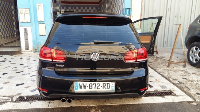 volkswagen golf 6 gtd 2013 diesel 157702 occasion fes maroc. Black Bedroom Furniture Sets. Home Design Ideas