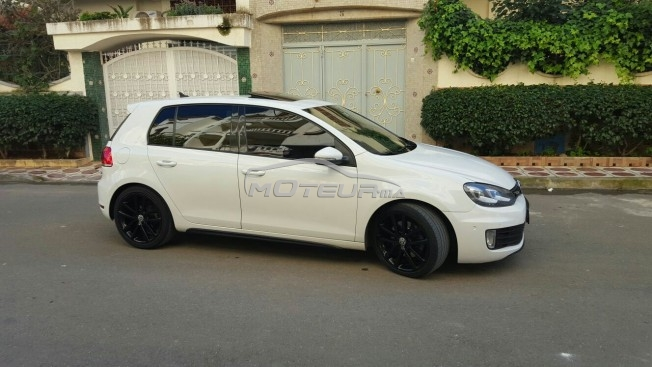 volkswagen golf 6 gtd 2011 diesel 143791 occasion ksar el kebir maroc. Black Bedroom Furniture Sets. Home Design Ideas