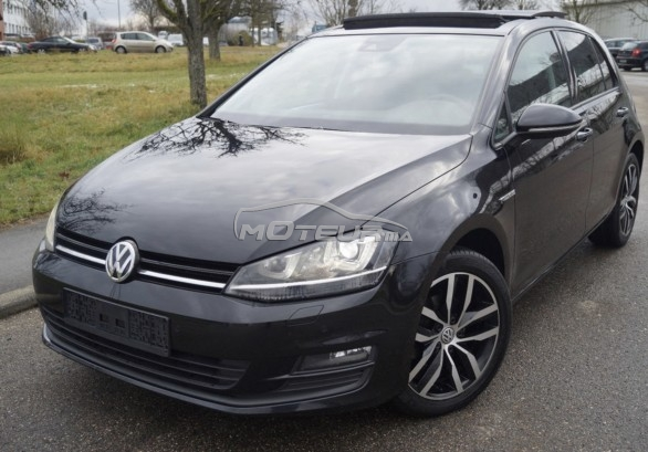 volkswagen golf 7 1 6 tdi 2014 diesel 193376 occasion nador maroc. Black Bedroom Furniture Sets. Home Design Ideas