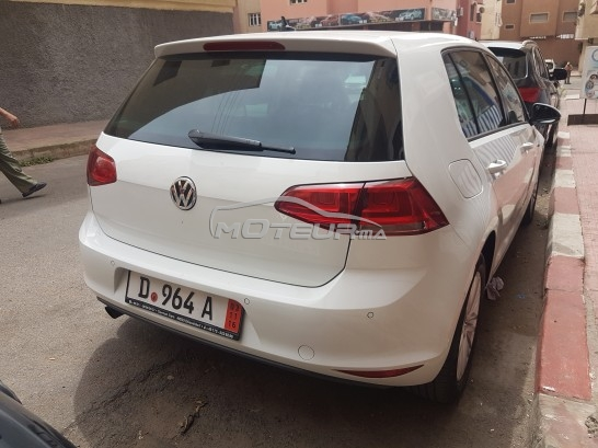 volkswagen golf 7 2014 diesel 155707 occasion casablanca maroc. Black Bedroom Furniture Sets. Home Design Ideas