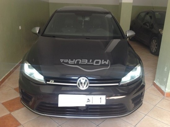 volkswagen golf 7 r 2014 essence 150433 occasion tanger maroc. Black Bedroom Furniture Sets. Home Design Ideas