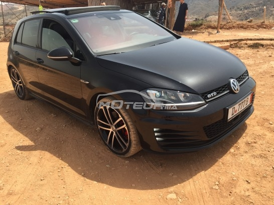 volkswagen golf 7 gtd 2014 diesel 98101 occasion nador maroc. Black Bedroom Furniture Sets. Home Design Ideas