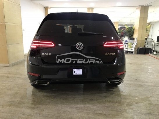 photo volkswagen golf 7 2 0 tdi r line 2017 180105 386600 casablanca. Black Bedroom Furniture Sets. Home Design Ideas