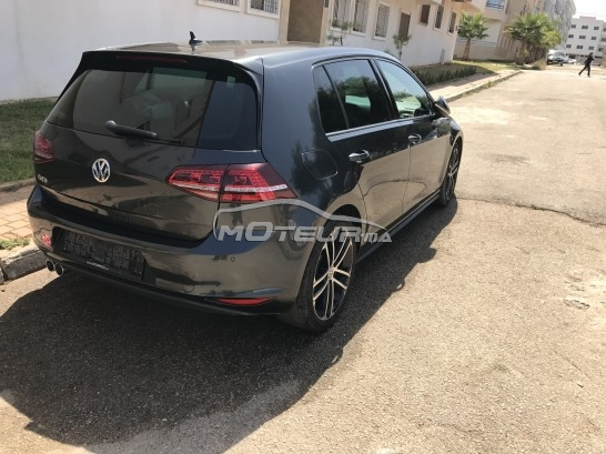 volkswagen golf 7 gtd 2013 diesel 180121 occasion rabat maroc. Black Bedroom Furniture Sets. Home Design Ideas