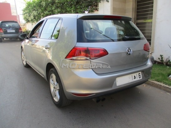 volkswagen golf 7 2 0 tdi 2013 diesel 176624 occasion casablanca maroc. Black Bedroom Furniture Sets. Home Design Ideas