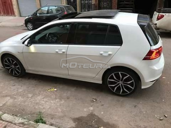 volkswagen golf 7 rline 2014 diesel 171606 occasion casablanca maroc. Black Bedroom Furniture Sets. Home Design Ideas