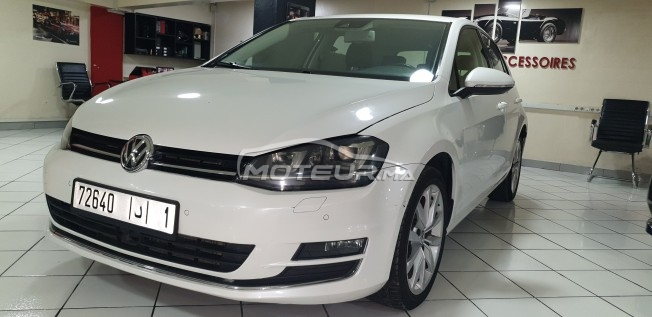 سيارة في المغرب VOLKSWAGEN Golf 7 2.0 tdi bluemotion 140 ch - 270045