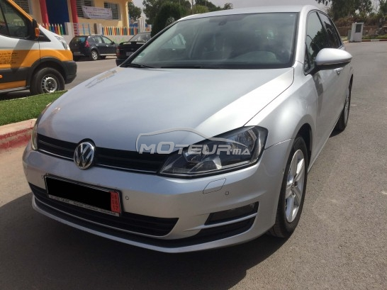 volkswagen golf 7 pack gtd 2014 diesel 178614 occasion rabat maroc. Black Bedroom Furniture Sets. Home Design Ideas
