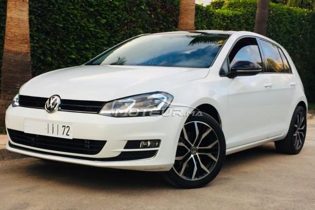 Voiture Volkswagen Golf 7 2015 à rabat  Diesel  - 8 chevaux