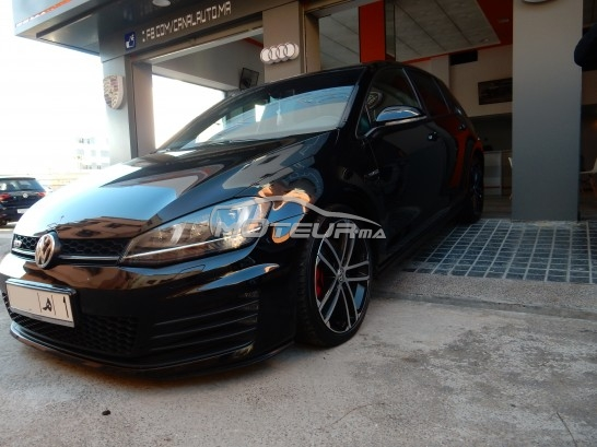 volkswagen golf 7 gtd 2015 diesel 205467 occasion casablanca maroc. Black Bedroom Furniture Sets. Home Design Ideas