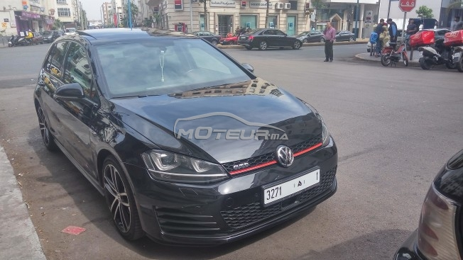 volkswagen golf 7 gtd 2014 diesel 157880 occasion casablanca maroc. Black Bedroom Furniture Sets. Home Design Ideas