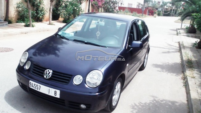 volkswagen polo 2003 essence 156240 occasion rabat maroc. Black Bedroom Furniture Sets. Home Design Ideas