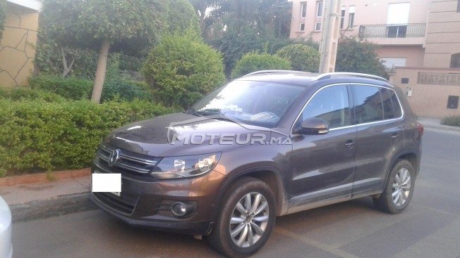 سيارة في المغرب VOLKSWAGEN Tiguan 2.0 tdi 140 ch bluemotion technology carat - 255046