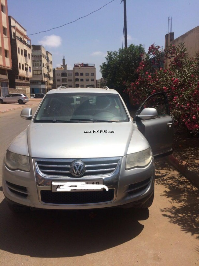 volkswagen touareg v6 2008 diesel 104620 occasion casablanca maroc. Black Bedroom Furniture Sets. Home Design Ideas