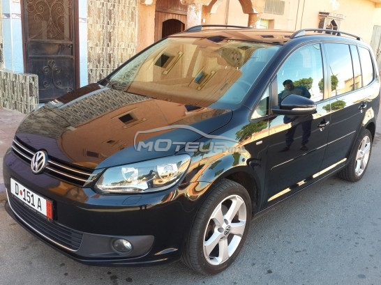 volkswagen touran 2012 diesel 134989 occasion agadir maroc. Black Bedroom Furniture Sets. Home Design Ideas