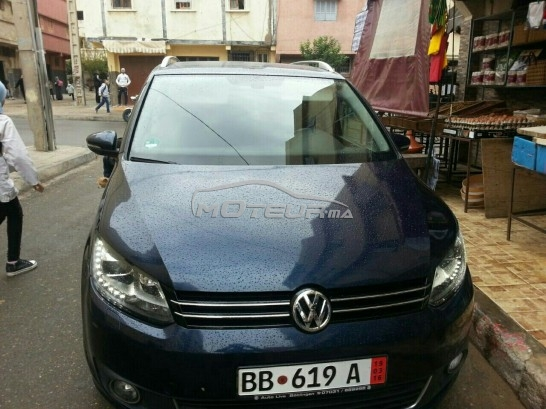 volkswagen touran 2012 diesel 142171 occasion rabat maroc. Black Bedroom Furniture Sets. Home Design Ideas