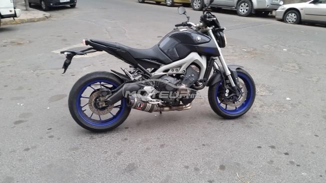 Moto au Maroc YAMAHA Mt Mt09 blue race abs - 163335
