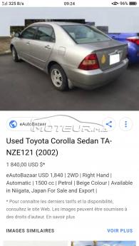 Consultez tous les avis sur le sujet: demande de prix toyota corolla 7ch sur le forum voiture, automobile, bagnole  de Moteur.ma le portail des voitures au Maroc