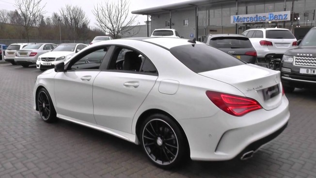 mercedes cla 220 d amg line neuve au maroc. Black Bedroom Furniture Sets. Home Design Ideas