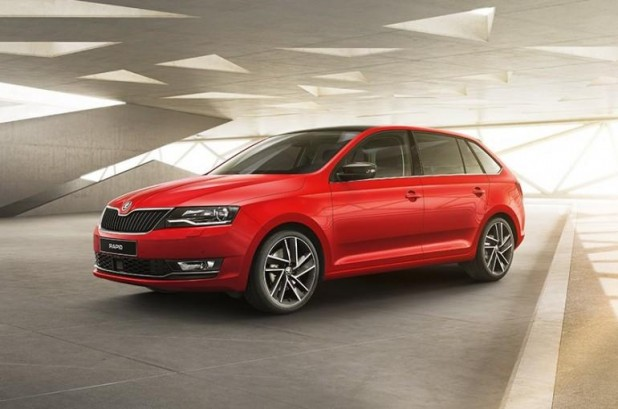 skoda rapid spaceback 1 6 tdi s rie limit e neuve au maroc. Black Bedroom Furniture Sets. Home Design Ideas
