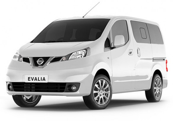 nissan evalia 5 si ges neuve au maroc. Black Bedroom Furniture Sets. Home Design Ideas