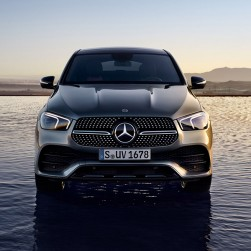 mercedes gle coupe 400d 4matic 9G AMG LINE+